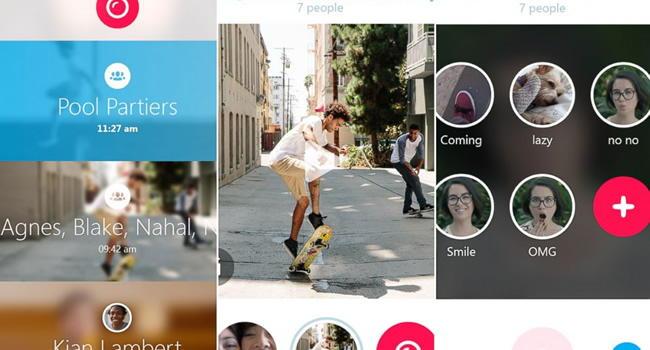Skype Qik - приложение для обмена видеосообщениями