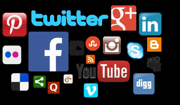 список социальных сетей